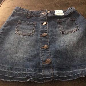 Denim Skirt - girls sz 10